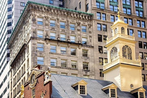 Casa velha do estado em boston