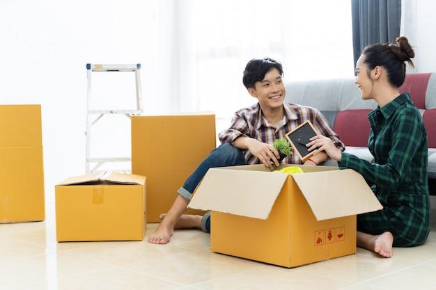 Casais asiáticos estão se mudando para casa