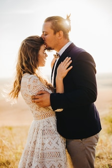 Casais de retrato, ternura amor natureza