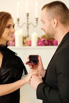 Casal amável Foto gratuita