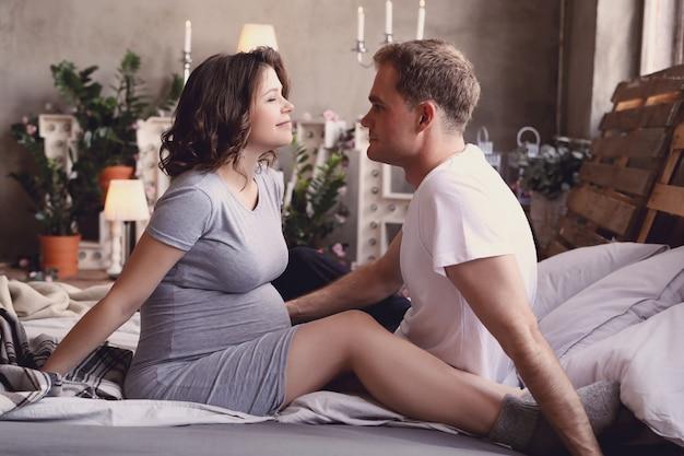 Casal grávido