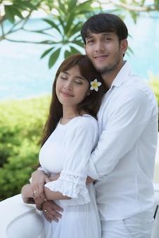 Casal romântico wedding photography.couples ama o jovem e doce.