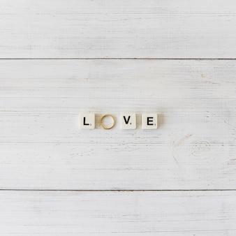 Casamento ainda vida com letras