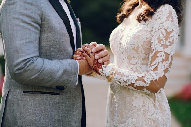 Casamento indiano elegante