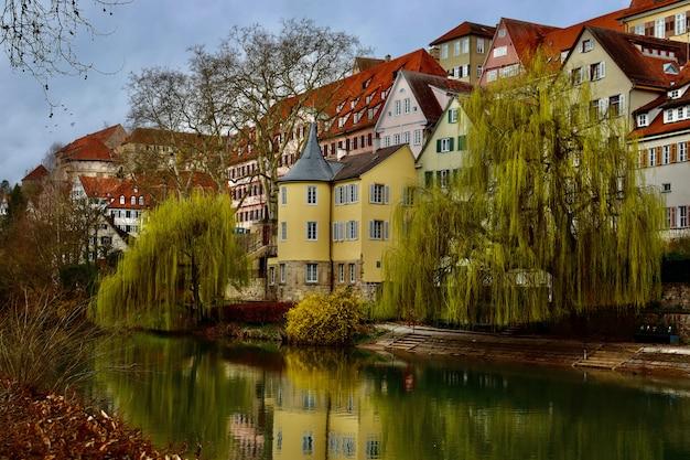 Casas coloridas na alemanha