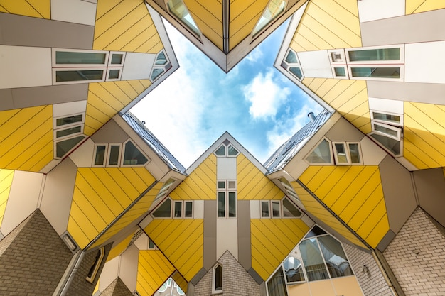 Casas de cubo roterdã holanda