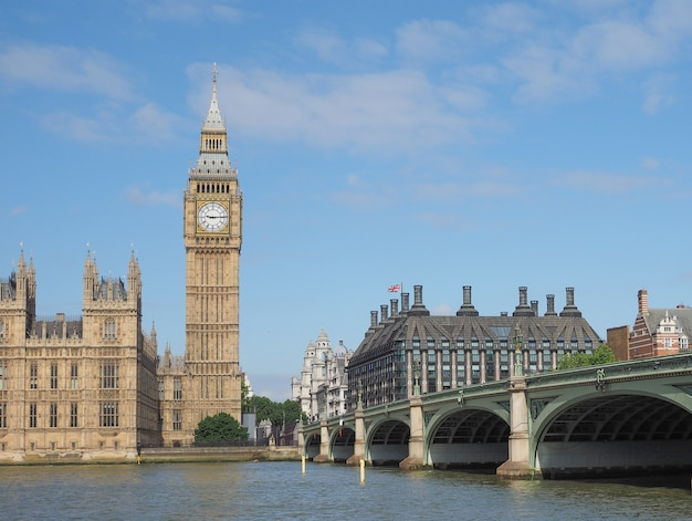 Casas do parlamento em londres