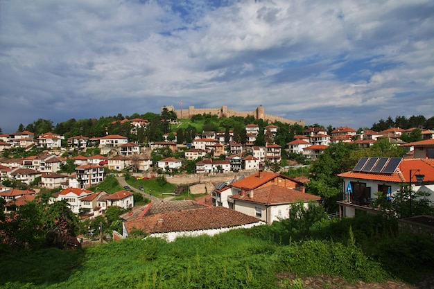 Casas na cidade de orquídea, macedônia