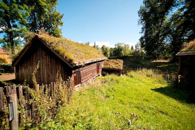 Casas registro, em, norsk, folkemuseum, bygdoy, oslo, noruega