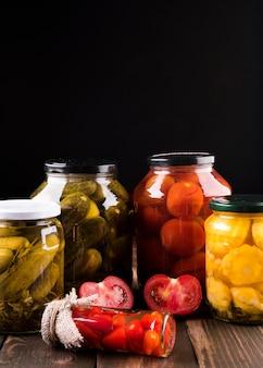 Caseiro saboroso preserva variedade