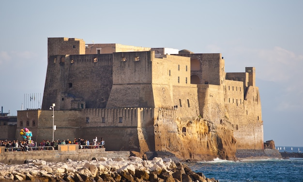 Castel dell'ovo em nápoles