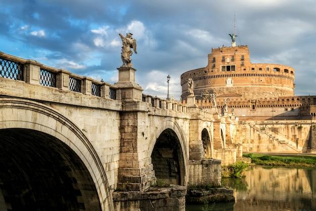 Castel sant angelo em roma, itália