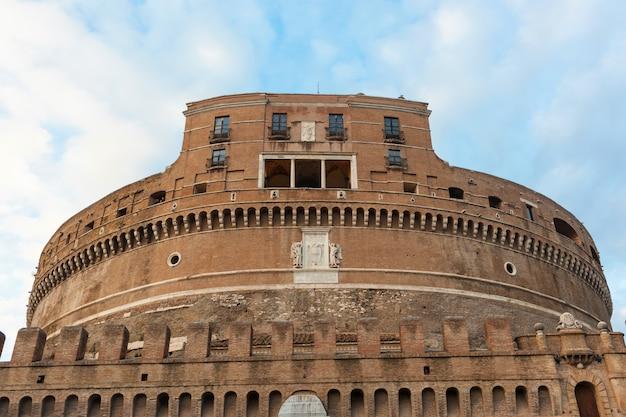 Castel sant'angelo, em roma, itália