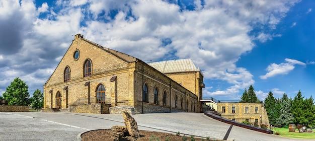 Castelo da vinícola prince trubetskoy na região de kherson