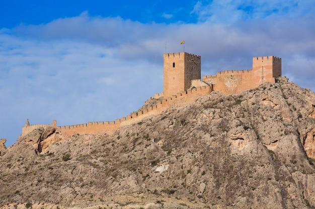 Castelo de aldeia de sax sax na espanha