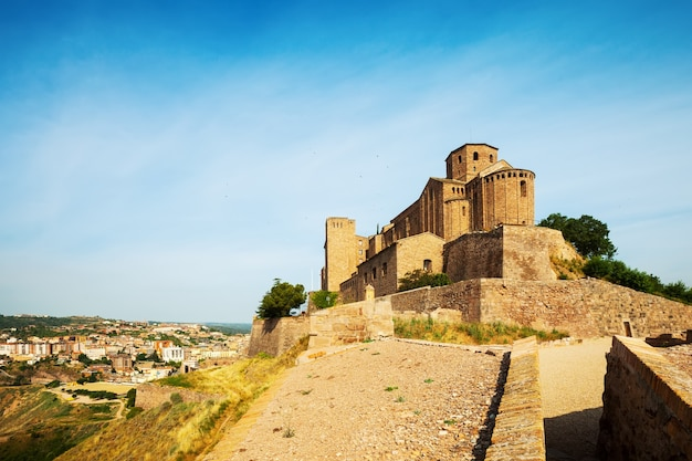 Castelo de cardona. catalunha