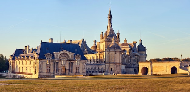 Castelo de chantilly e museu do conde