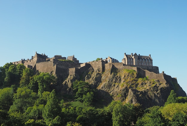 Castelo de edimburgo na escócia