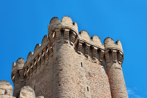 Castelo de mardakan no azerbaijão, península de absheron