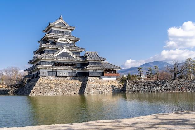 Castelo de matsumoto no japão