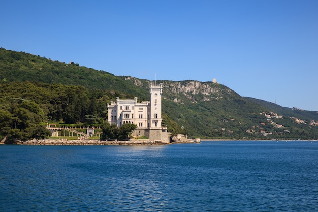 Castelo de miramare, itália