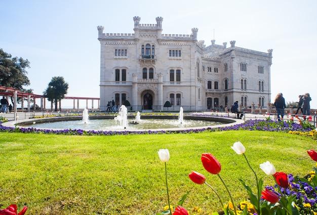 Castelo de miramare, trieste, itália