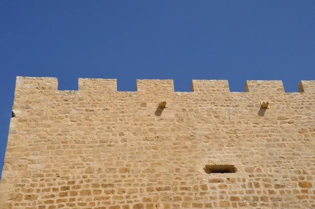 Castelo de montfort em dordonha