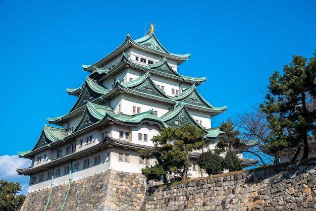 Castelo de nagoya majestoso em nagoya, japão