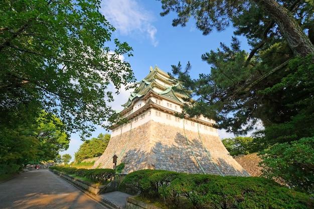 Castelo de nagoya, um castelo japonês em nagoya, japão