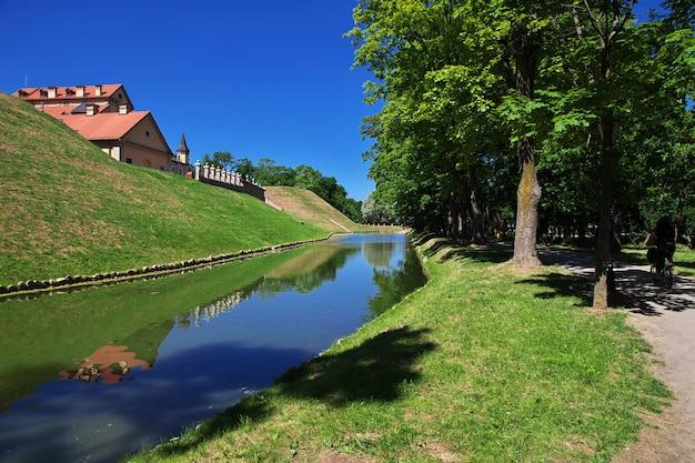 Castelo de nesvizh no país da bielorrússia