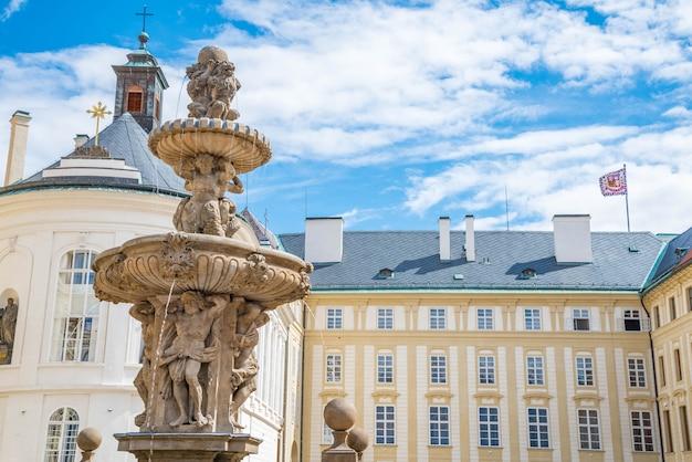 Castelo de praga em praga, república checa