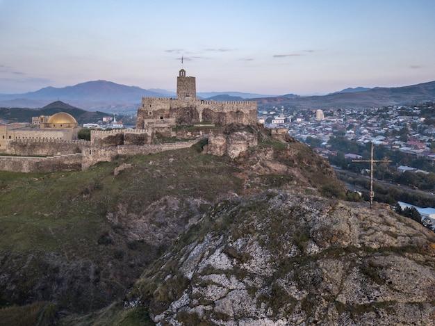 Castelo de rabati em akhaltsikhe, geórgia.