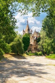 Castelo de vajdahunyad em budapeste