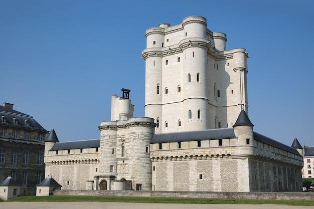 Castelo de vincennes em paris, frança