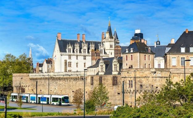Castelo dos duques da bretanha em nantes frança