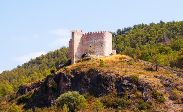 Castelo em gaibiel. comunidade valenciana