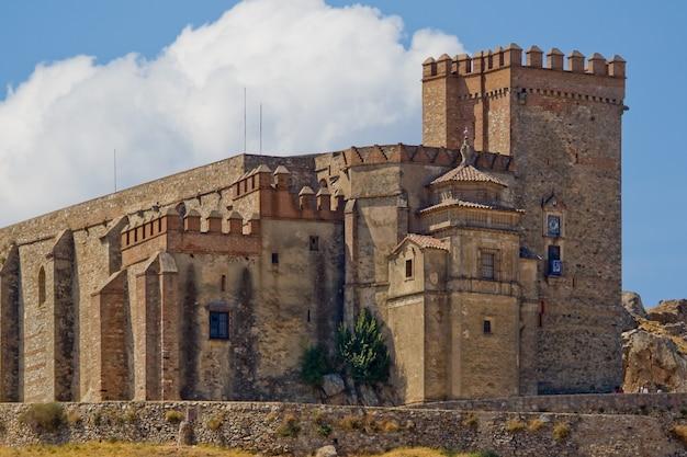 Castelo fortaleza de aracena, huelva, espanha