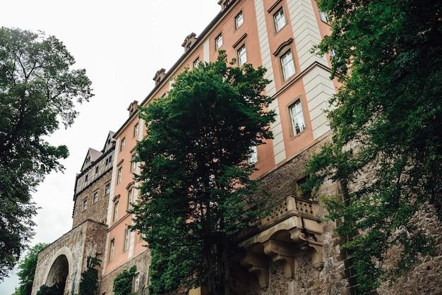 Castelo histórico ksiaz em swiebodzice, polônia