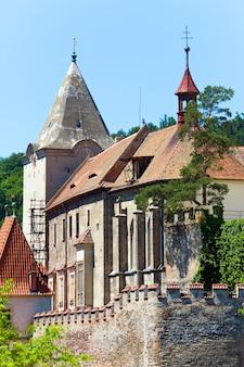 Castelo histórico medieval de krivoklat na república tcheca