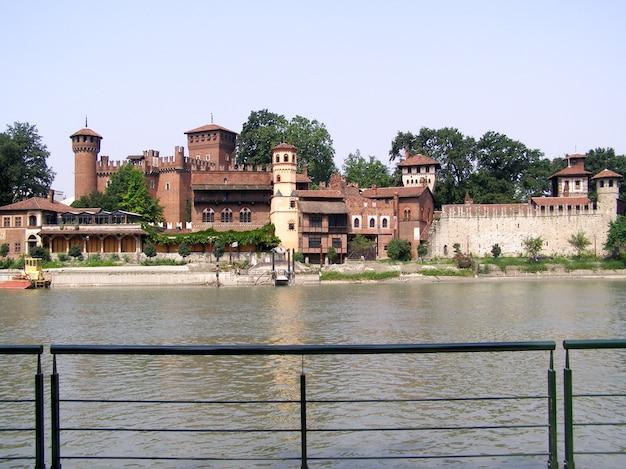Castelo medieval em torino