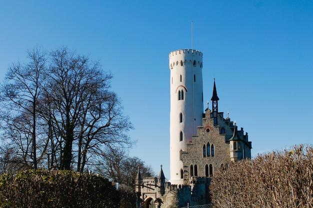 Castelo medieval na alemanha