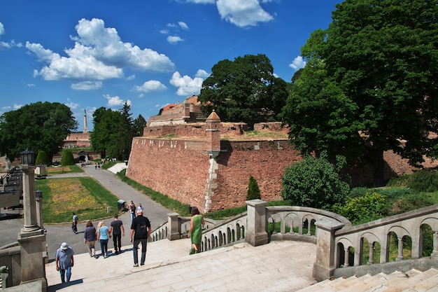 Castelo na cidade de belgrado, sérvia