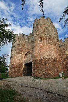 Castelo na cidade de orquídea, macedônia