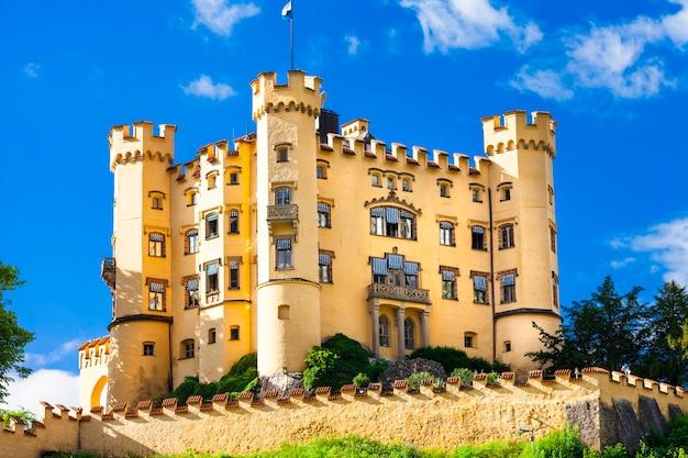 Castelos da alemanha, hohenswangau na baviera