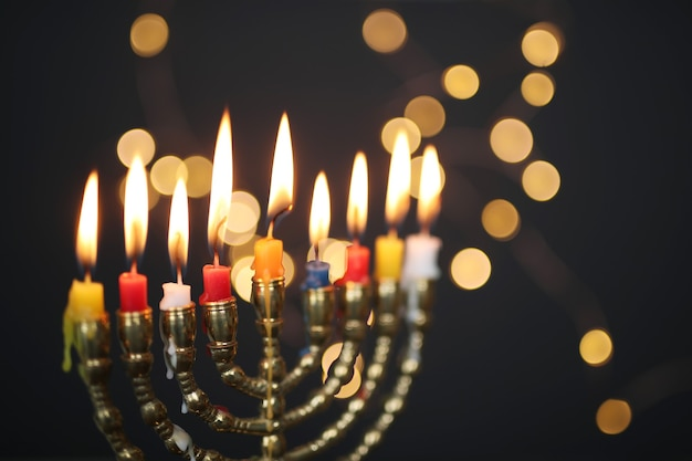 Castiçal de hanukkah