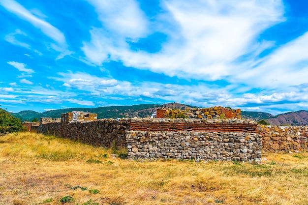 Castrum romano fortaleza de diana, construída em 101 dc em kladovo, no leste da sérvia