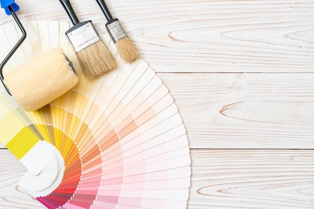 Catálogo de amostras de cores ou livro de amostras de cores