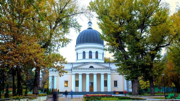 Catedral central da natividade em chisinau, moldávia