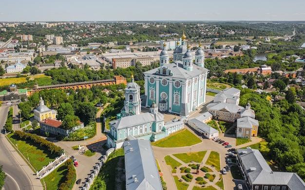 Catedral da assunção na cidade de smolensk