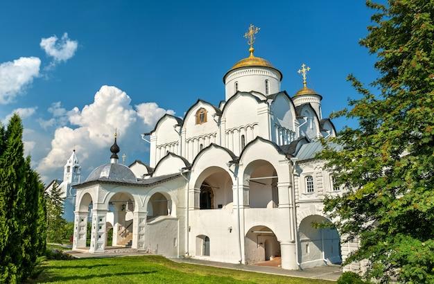 Catedral da intercessão de theotokos em suzdal, o anel de ouro da rússia